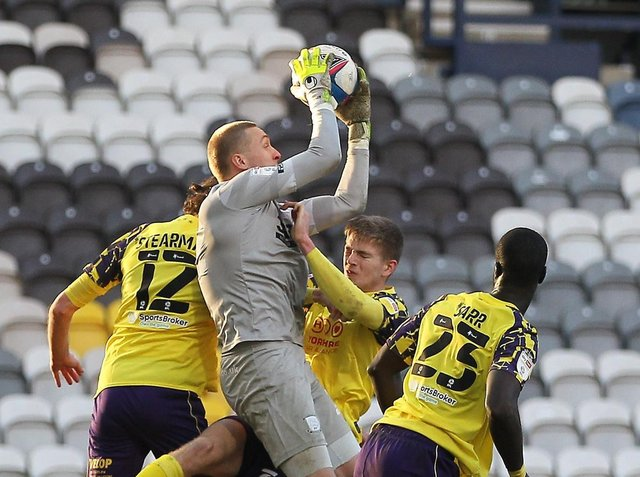 North End keeper Daniel Iversen