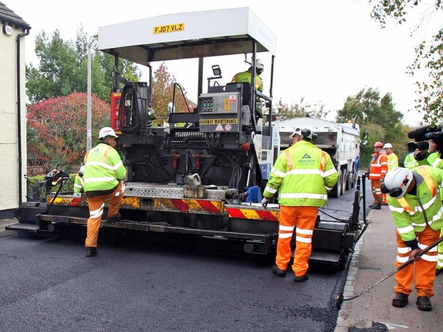 Lancashire County Council has laid out all of the roads it plans to resurface over the next year.