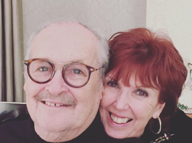 Bobby Ball with his wife Yvonne