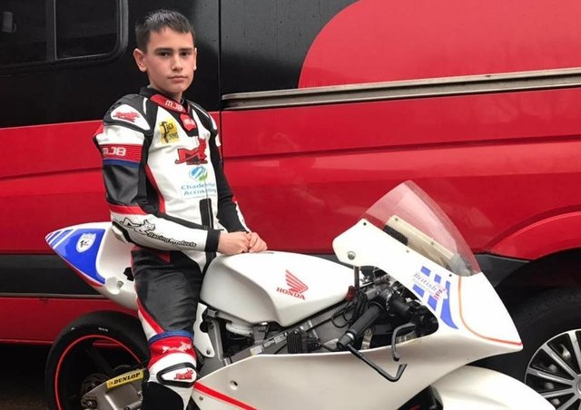 Alfie Davidson will be competing in the British Talent Cup series this summer