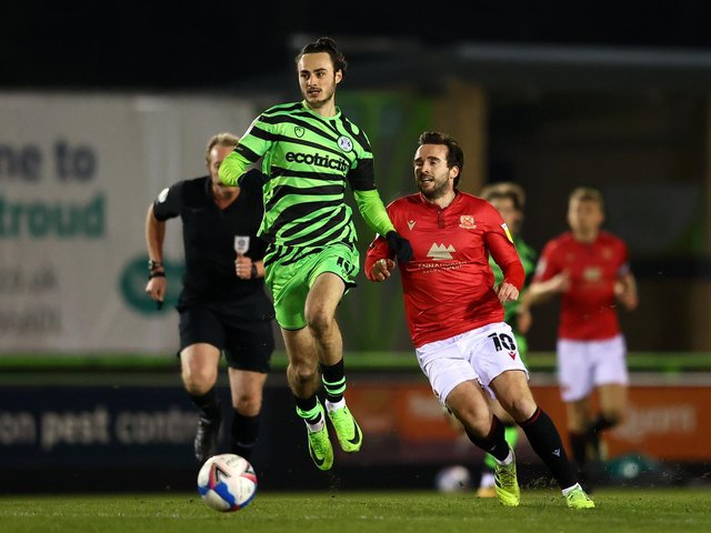 Morecambe drew at Forest Green Rovers on Tuesday night