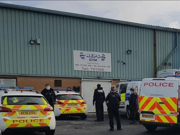 A Preston gym owner has been arrested for breaching a court closure order.