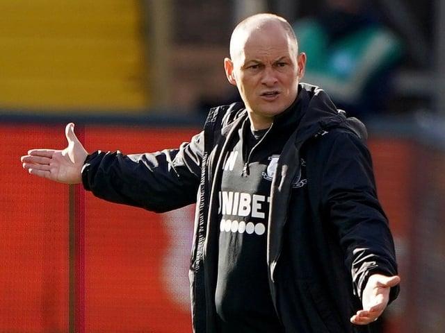 PNE boss Alex Neil at Wycombe on Saturday