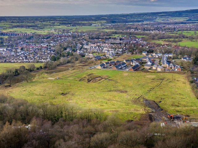 The land where the development will be built