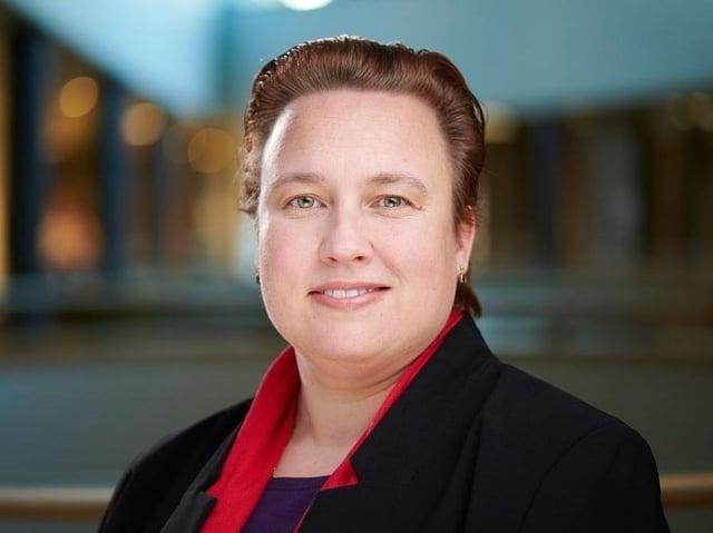 Coun Dr Erica Lewis, leader of Lancaster City Council.