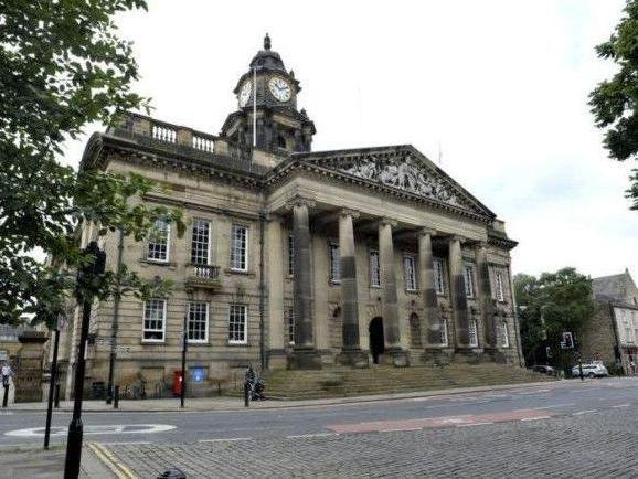 The Ashton Hall court is in Lancaster Town Hall