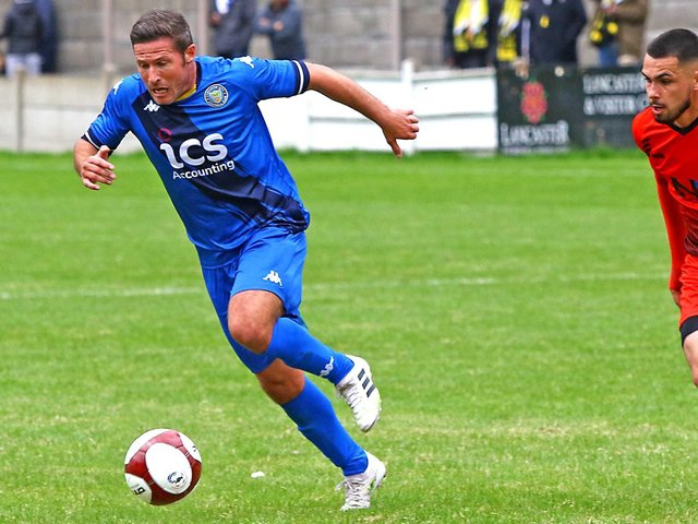 Lancaster City midfielder David Norris (photo: Tony North)
