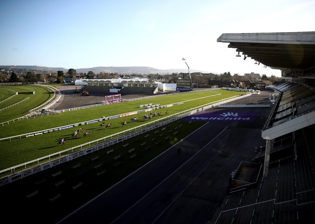 The scene on the opening day at Cheltenham