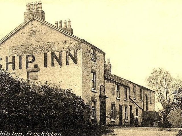 Blundell had been drinking at the Ship Inn Freckleton