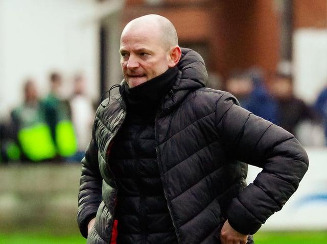Brig boss Jamie Milligan (photo: Ruth Hornby)