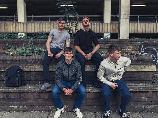 Members of Till? Records: Lewis Raistrick (top left), James Poole (top right), Harry Unsworth (bottom left), Sam Curran (bottom right)
