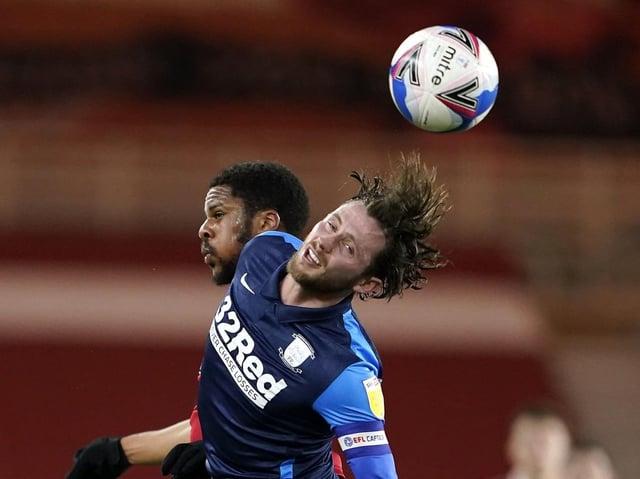 PNE midfielder Alan Browne