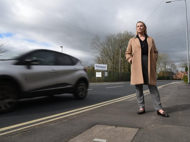 Since Wednesday's crash, more than 500 people have added their names to Linzi's petition, with city councilors among those giving their support.  Photo: Neil Cross