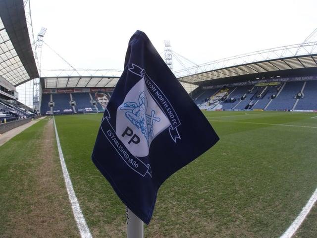 Preston North End's Deepdale stadium.