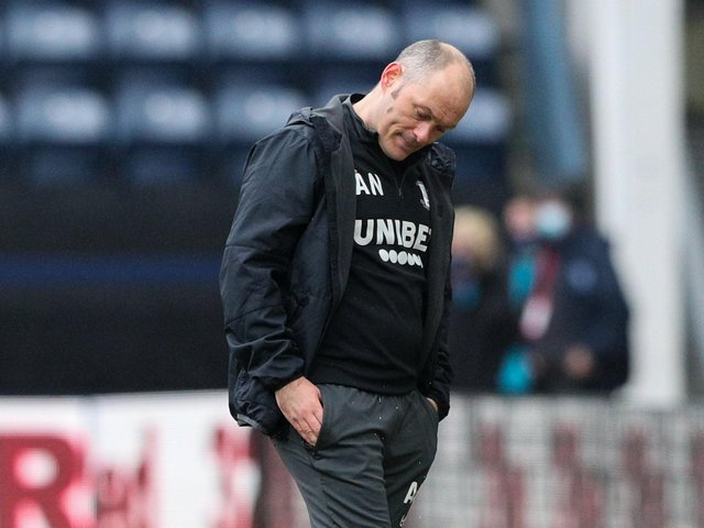 Preston boss Alex Neil can't hide his frustration as his side lose to Luton