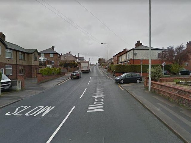 The robbery happened on Woodplumpton Road, at the junction of Banksfield Avenue