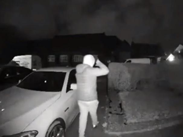 Cameras caught young males trying car doors on the street in Ribbleton