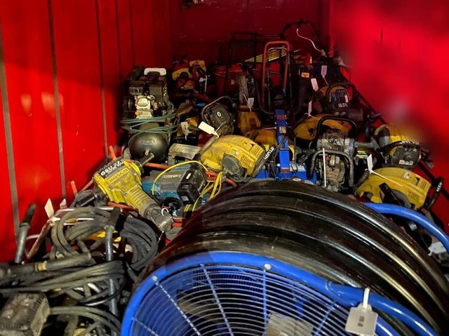 More than £100,000 of rural machinery is thought to have been stolen. Photo: Lancs Rural Police
