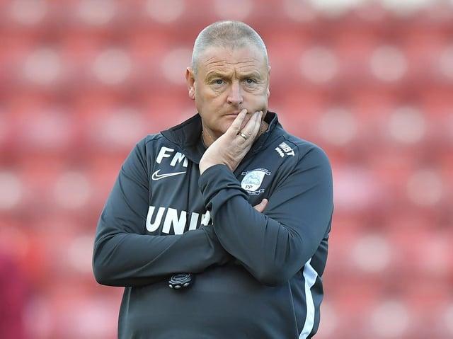 Frankie McAvoy has taken the role of Preston North End interim head coach after Alex Neil's dismissal