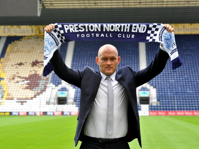 Alex Neil at his unveiling as Preston North End manager in July 2017