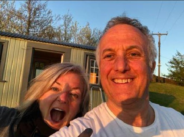 Lisa Campbell and Phil Morris, owners of Copy House Hideaway