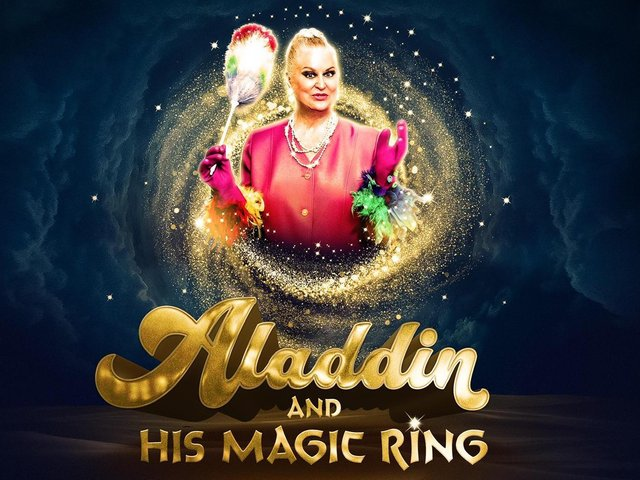 Blackpool summer adult pantomime Aladdin and the Magic Ring