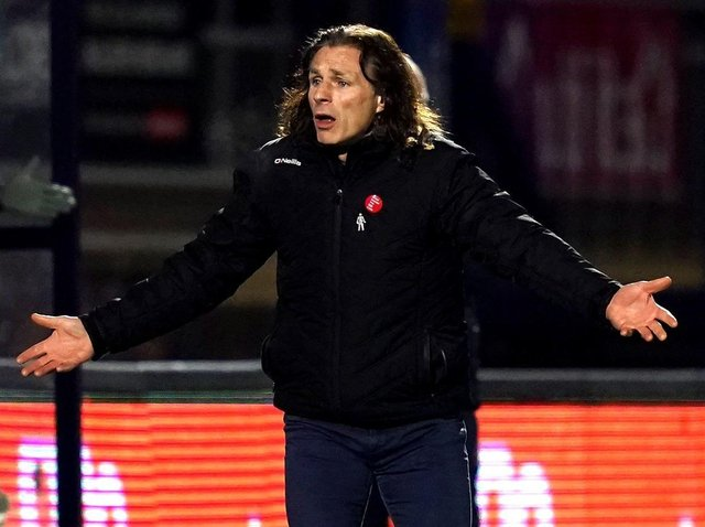 Current Wycombe Wanderers boss Gareth Ainsworth.