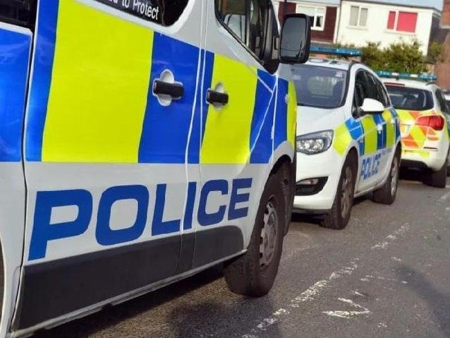 Police have made two arrests after men were seen wielding a samurai sword in Chorley this morning (Tuesday, March 23)