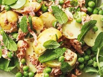 WeightWatchers ham hock and new potato salad
