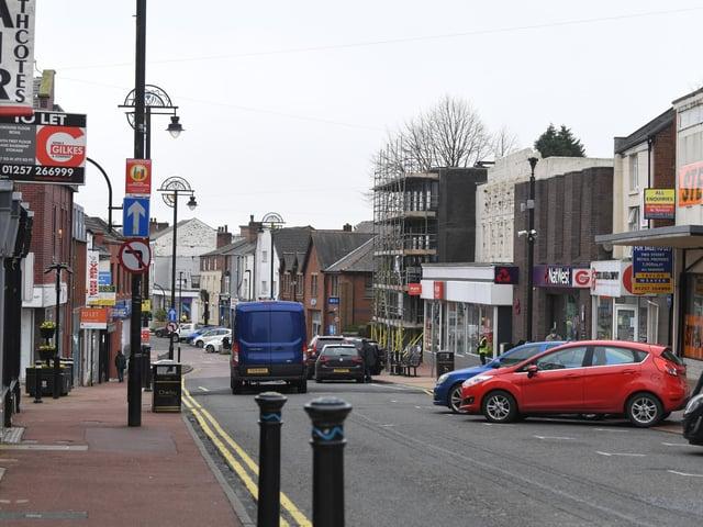 Market Street in Chorley