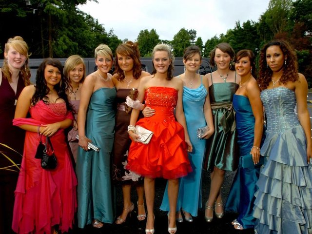 Archbishop Temple Leavers Prom at The Pines Hotel in 2008