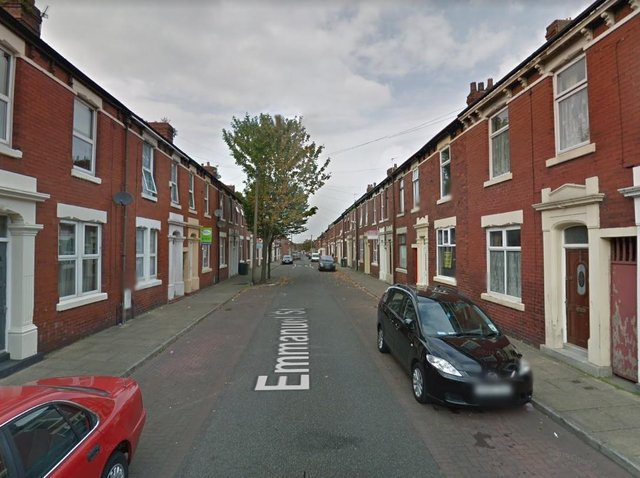 A man was found dead inside a property in Emmanuel Street. (Credit: Google)