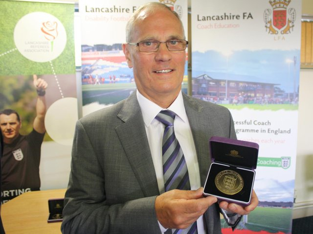 Dickie Danson served football in Morecambe and Lancaster with distinction
