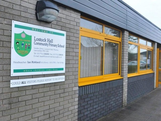 Lostock Hall Community Primary is closed today because of water supply issues