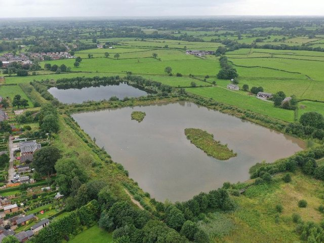 Grimsargh Wetlands, a new nature reserve made up of three former United Utilities Reservoirs. The Grimsargh Wetlands Trust, which runs the site, has won a grant of more than £10,000 from Lancashire Environmental Fund to improve public access to the wetlands