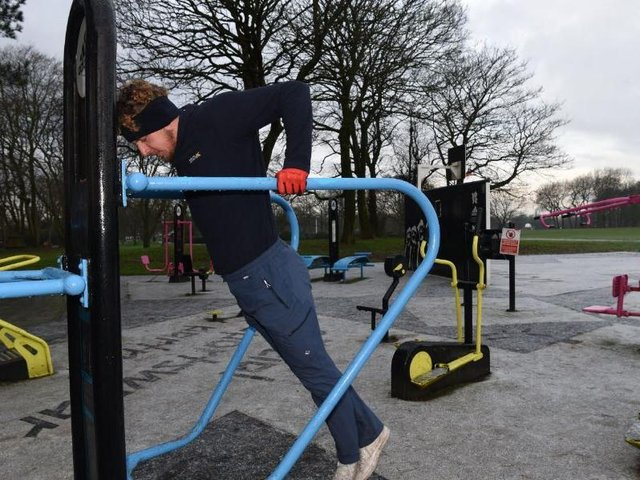 Outdoor gyms and sports facilities will be reopening for the first time since January