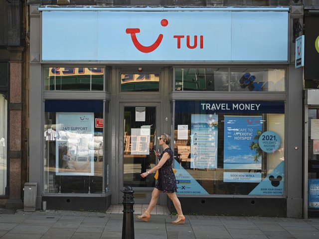 Tui plans 48 more high street store closures