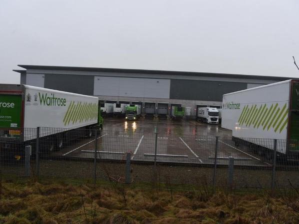 The Leyland Waitrose Regional Distribution Centre on the Matrix Business Park at Buckshaw Village