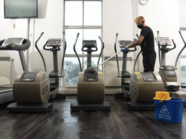 Fulwood Leisure Centre is preparing to open next month