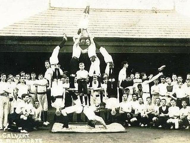The Preston Gymnastic Club proved popular