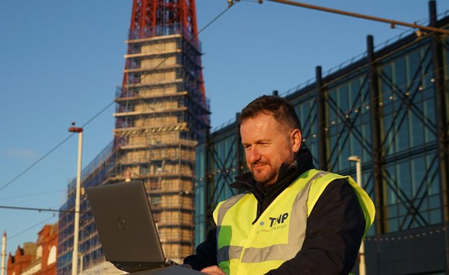 The installation of Blackpool's fast fibre  broadband network has been carried out by Lancaster based firm The Network People