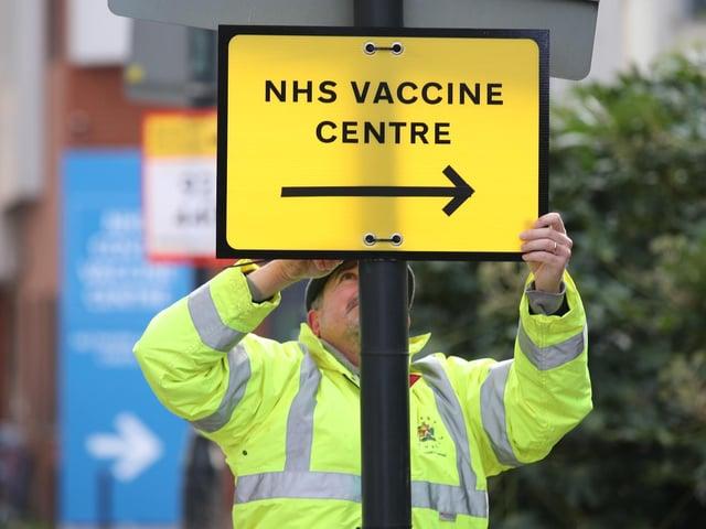 Covid-19 vaccine coverage in Preston