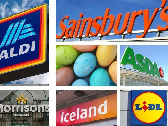 This is when Preston's supermarkets will be open over the Easter break.