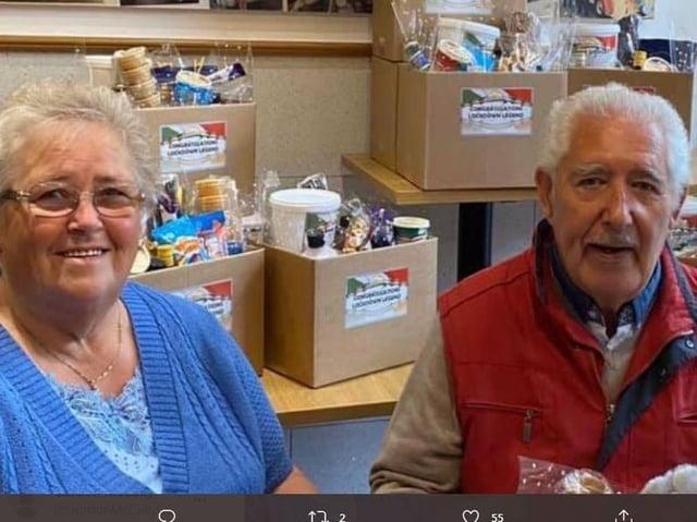 Tony Federici with his wife Elisabeth