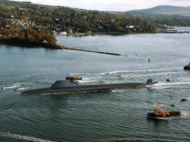 A Dreadnought submarine