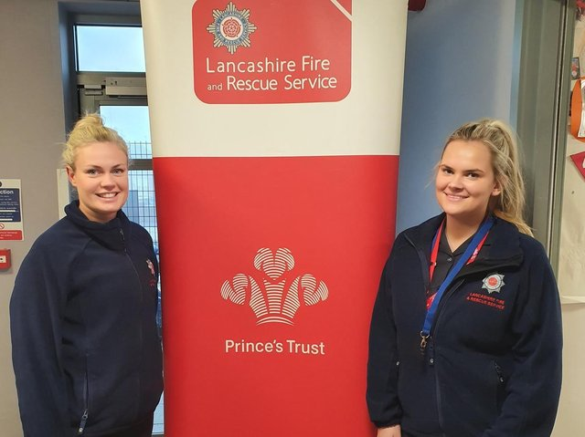 Lancashire Fire and Rescue is celebrating 20 years of partnership with The Prince's Trust, helping over 6,000 young people across the county.