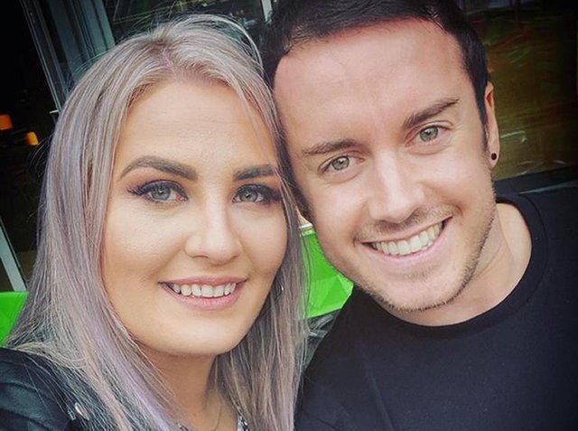 Jack Twigg, with his fiance Rhiannon Craddock. The former prisoner was given a job by Timpson despite his criminal record and has gone from apprentice to shop manager in just six months.