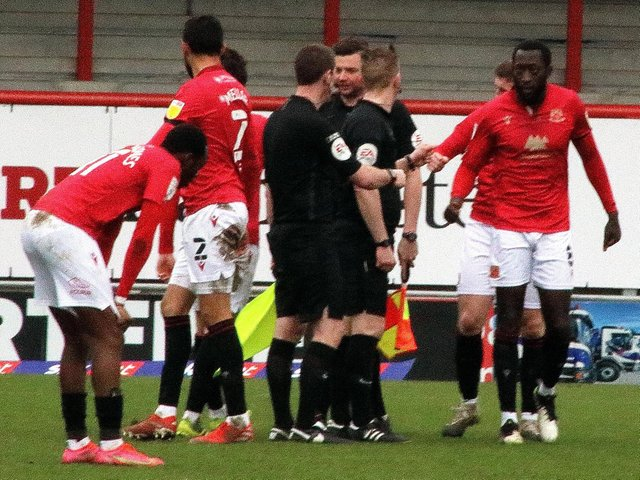 Morecambe are among those sides battling for promotion