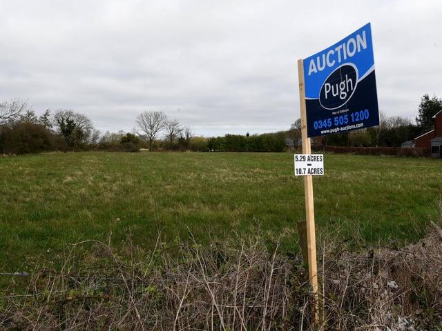 Land for sale off Chapel Lane, New Longton