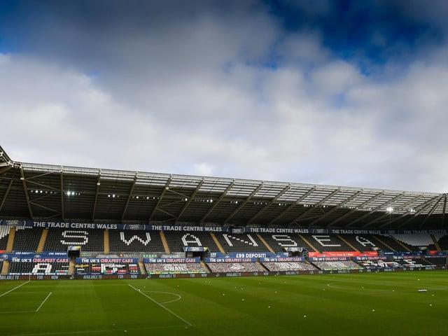 Swansea City's Liberty Stadium.